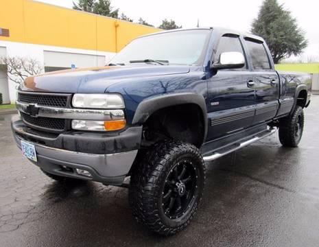 2002 Chevrolet Silverado 2500HD for sale at Platinum Motors in Portland OR