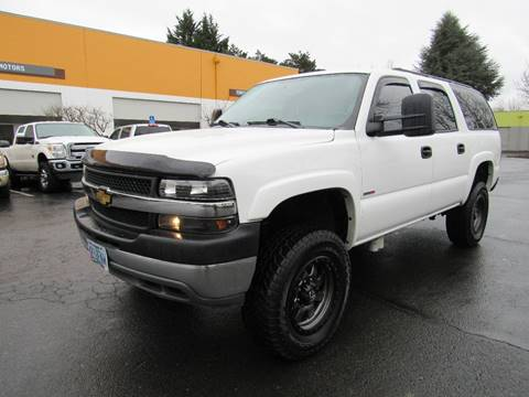 2004 Chevrolet Suburban for sale at Platinum Motors in Portland OR
