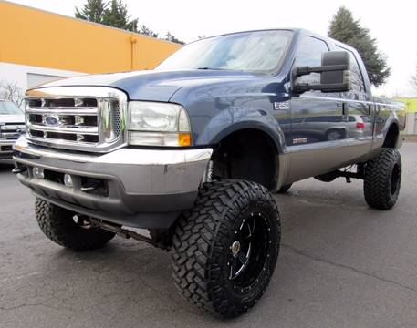 2004 Ford F-250 Super Duty for sale at Platinum Motors in Portland OR