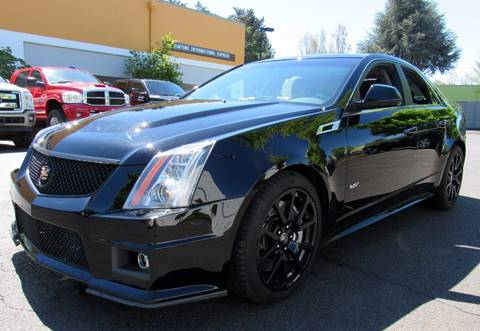 2012 Cadillac CTS-V for sale at Platinum Motors in Portland OR
