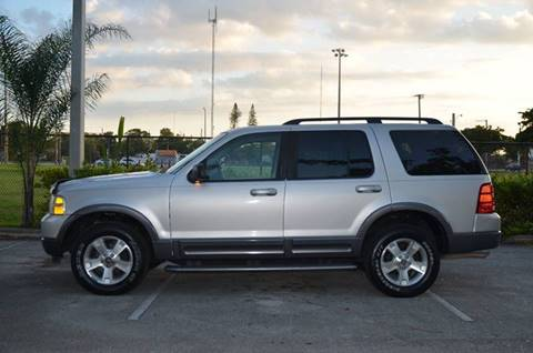 2003 Ford Explorer for sale in Hollywood, FL
