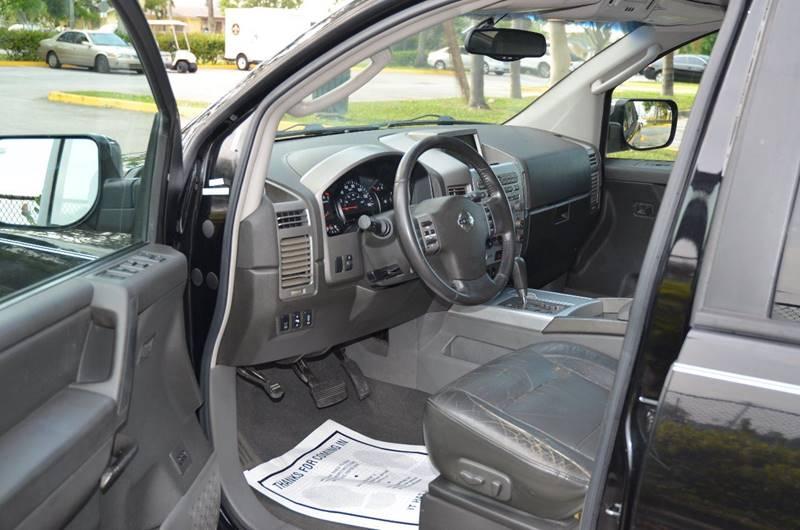 2005 Nissan Armada LE 4WD 4dr SUV - Hollywood FL