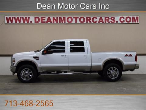 2008 ford f 250 for sale in houston tx for Dean motor cars houston tx