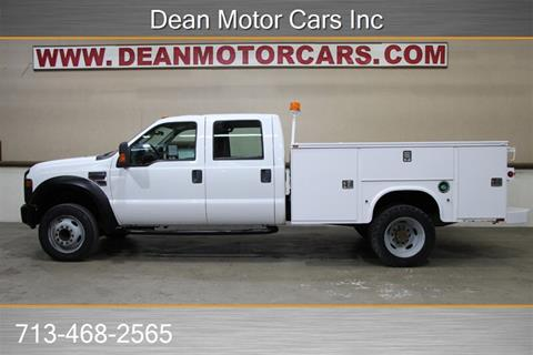 Ford F550 For Sale >> 2008 Ford F 550 Super Duty For Sale In Houston Tx