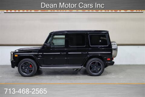 2014 Mercedes-Benz G-Class G 63 AMG for sale at Dean Motor Cars in Houston TX