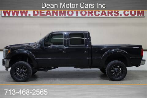 2013 Ford F-250 Super Duty for sale at Dean Motor Cars in Houston TX