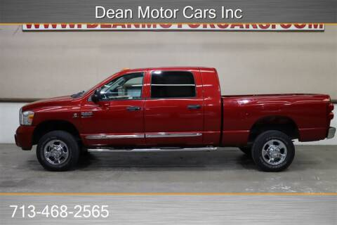 2008 Dodge Ram Pickup 2500 Laramie for sale at Dean Motor Cars in Houston TX