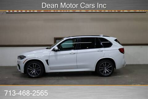 2016 BMW X5 M for sale at Dean Motor Cars in Houston TX
