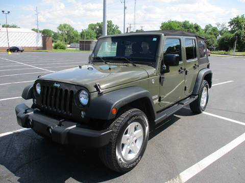 2016 Jeep Wrangler Unlimited for sale in Nashville, TN