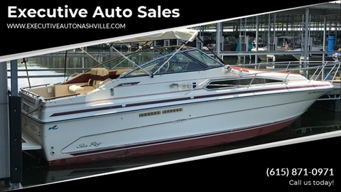 1988 Sea Ray 268 Weekender For Sale In Nashville Tn