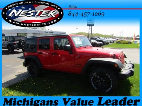 2018 Jeep Wrangler Unlimited for sale in Houghton Lake, MI