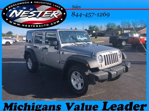 2014 Jeep Wrangler Unlimited for sale in Houghton Lake, MI