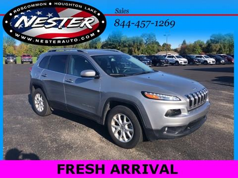 2017 Jeep Cherokee for sale in Houghton Lake, MI