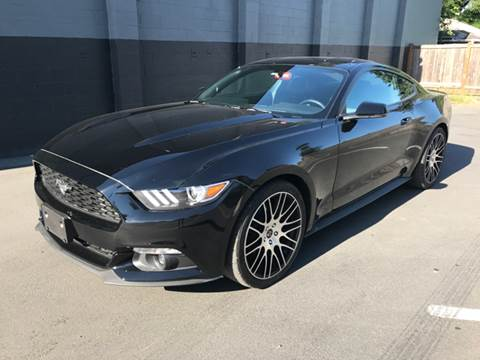 2016 Ford Mustang for sale at APX Auto Brokers in Lynnwood WA