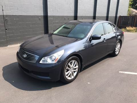 2009 Infiniti G37 Sedan for sale at APX Auto Brokers in Lynnwood WA