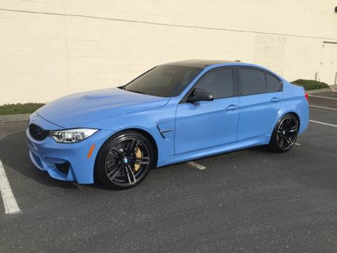 2015 BMW M3 for sale at APX Auto Brokers in Lynnwood WA