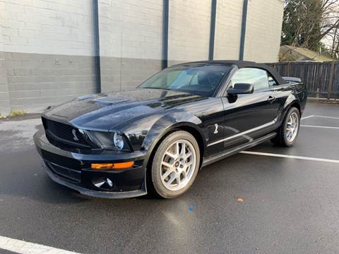 2008 Ford Shelby GT500 for sale in Lynnwood, WA
