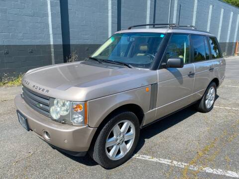 2003 Land Rover Range Rover for sale at APX Auto Brokers in Lynnwood WA