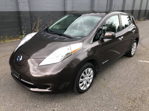2016 Nissan LEAF for sale at APX Auto Brokers in Lynnwood WA
