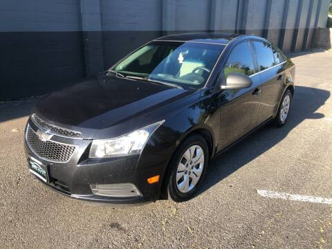 2012 Chevrolet Cruze for sale at APX Auto Brokers in Lynnwood WA