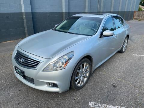 2013 Infiniti G37 Sedan for sale at APX Auto Brokers in Lynnwood WA