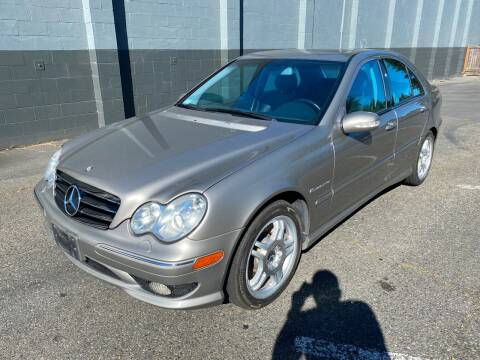2003 Mercedes-Benz C-Class for sale at APX Auto Brokers in Lynnwood WA