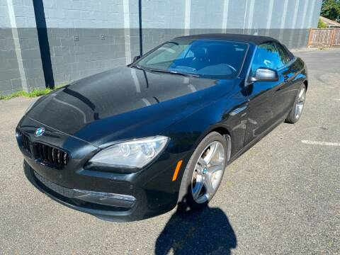 2012 BMW 6 Series for sale at APX Auto Brokers in Lynnwood WA