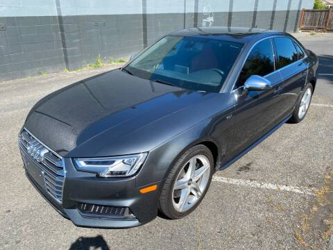 2018 Audi S4 for sale at APX Auto Brokers in Lynnwood WA