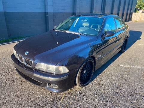 2002 BMW M5 for sale at APX Auto Brokers in Lynnwood WA