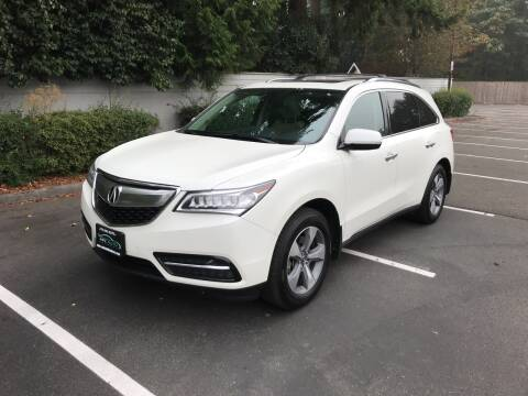 2014 Acura MDX for sale at APX Auto Brokers in Lynnwood WA