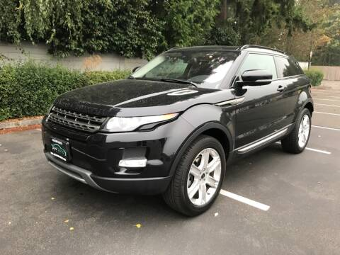 2012 Land Rover Range Rover Evoque Coupe for sale at APX Auto Brokers in Lynnwood WA