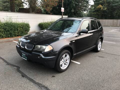 2005 BMW X3 for sale at APX Auto Brokers in Lynnwood WA
