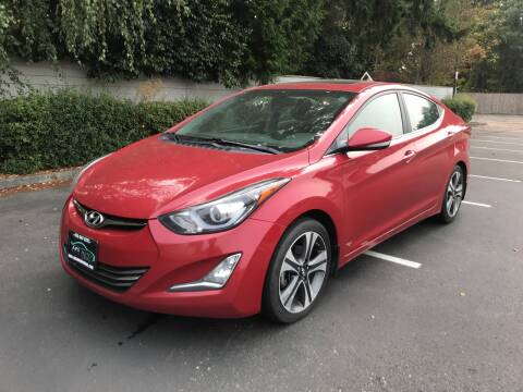 2014 Hyundai Elantra for sale at APX Auto Brokers in Lynnwood WA