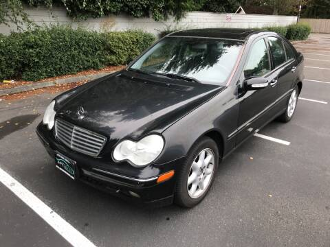 2004 Mercedes-Benz C-Class for sale at APX Auto Brokers in Lynnwood WA