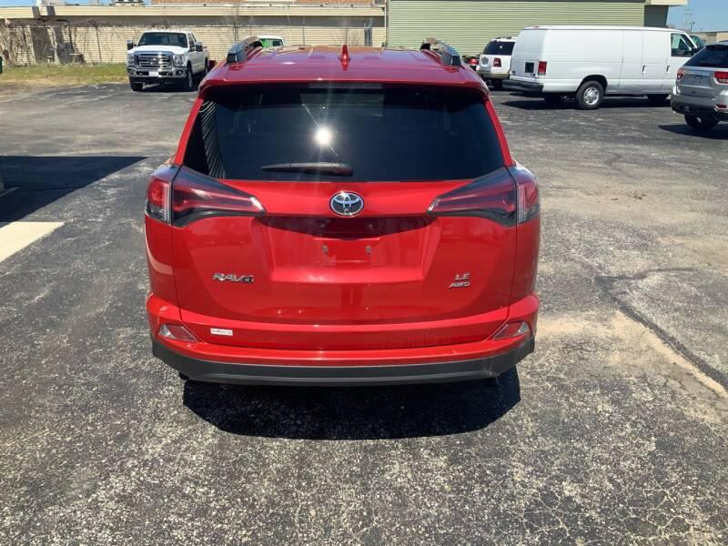 2017 Toyota RAV4 AWD LE 4dr SUV - Traverse City MI