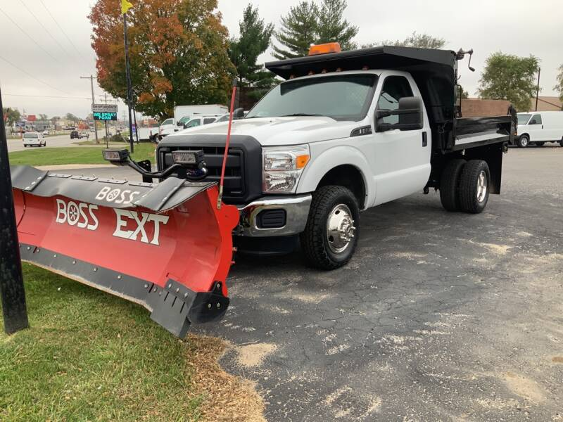 2015 Ford F-350 Super Duty 4x4 XLT 2dr Regular Cab 141 in. WB DRW Chassis - Traverse City MI