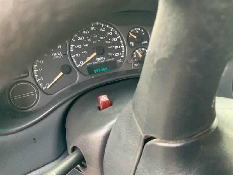2002 GMC Sierra 1500 2dr Standard Cab SLE 4WD LB - Traverse City MI
