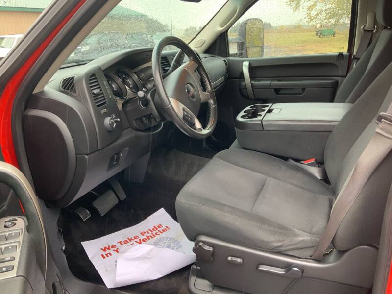 2013 GMC Sierra 2500HD 4x4 SLE 4dr Crew Cab SB - Traverse City MI