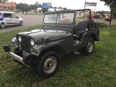 1955 Willys CJ-1 for sale in Traverse City, MI