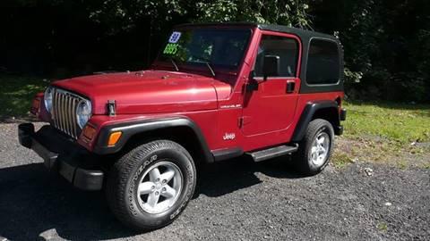 1998 Jeep Wrangler for sale in Meriden, CT