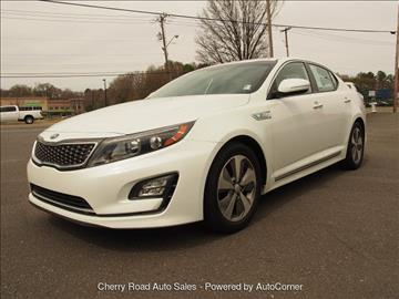 2014 Kia Optima Hybrid for sale in Rock Hill SC