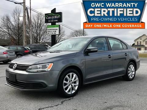 2011 Volkswagen Jetta for sale in New Holland, PA