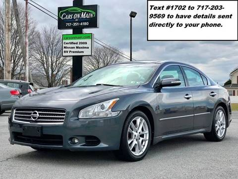 2009 Nissan Maxima for sale in New Holland, PA
