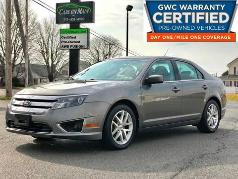 2010 Ford Fusion for sale in New Holland, PA