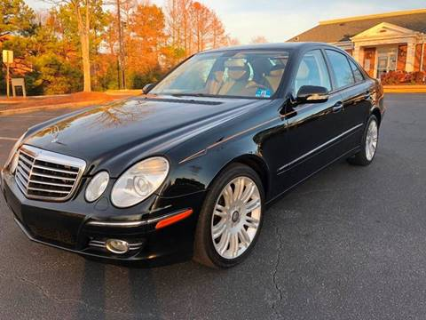 2008 Mercedes-Benz E-Class for sale at SMZ Auto Import in Roswell GA