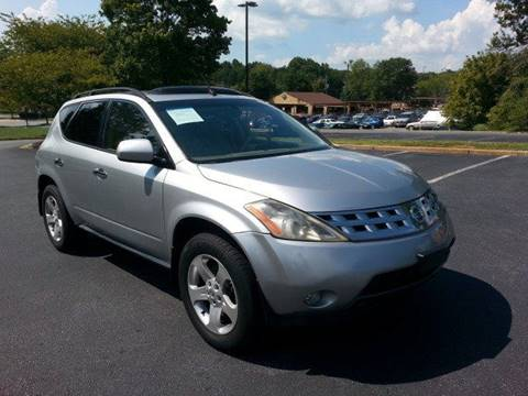 2004 Nissan Murano for sale at SMZ Auto Import in Roswell GA