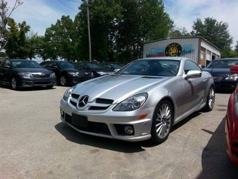 2011 Mercedes-Benz SLK for sale at SMZ Auto Import in Roswell GA