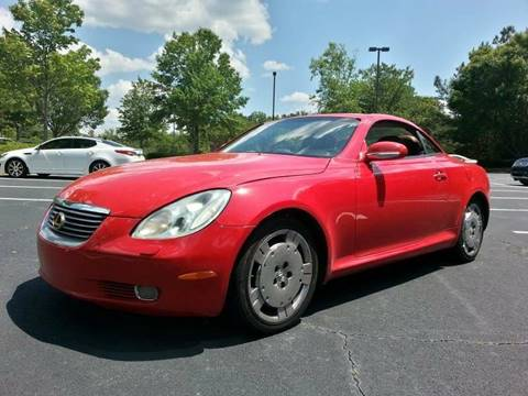 2002 Lexus SC 430 for sale at SMZ Auto Import in Roswell GA
