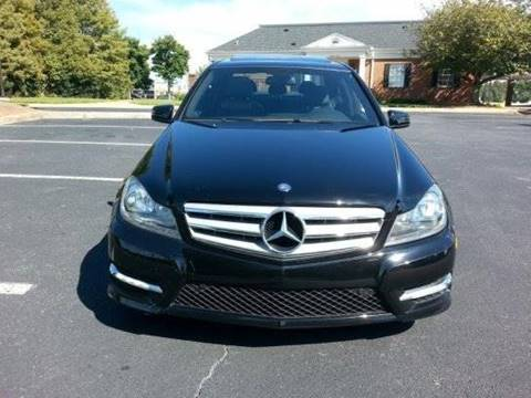 2013 Mercedes-Benz C-Class for sale at SMZ Auto Import in Roswell GA