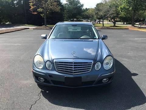 2007 Mercedes-Benz E-Class for sale at SMZ Auto Import in Roswell GA